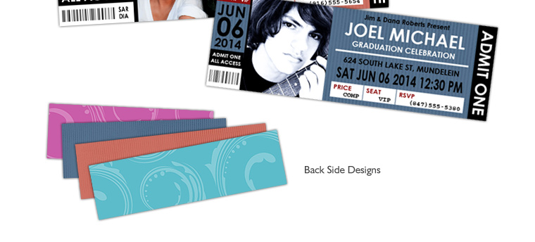 Premium Package Photobackscom - Event ticket template photoshop
