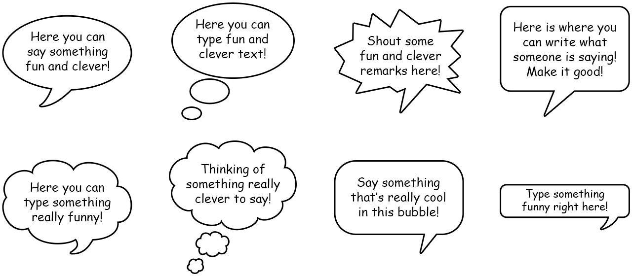 how to create speech bubble indesign